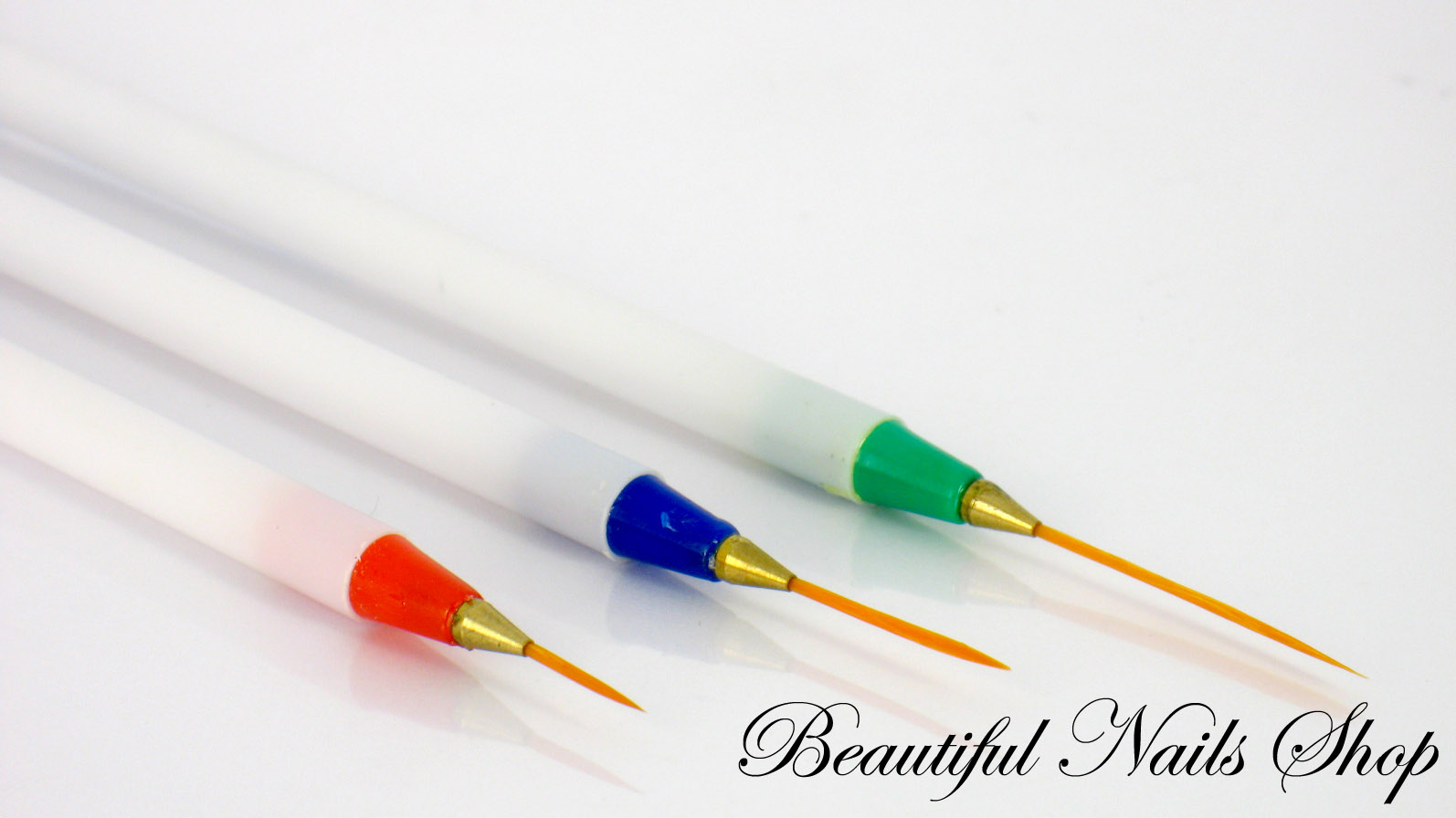 Nail Art Pen Brush Painting Tools Set Of 3